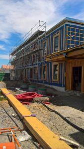 Travaux de 6 logements sociaux sur la commune de St Colomban
